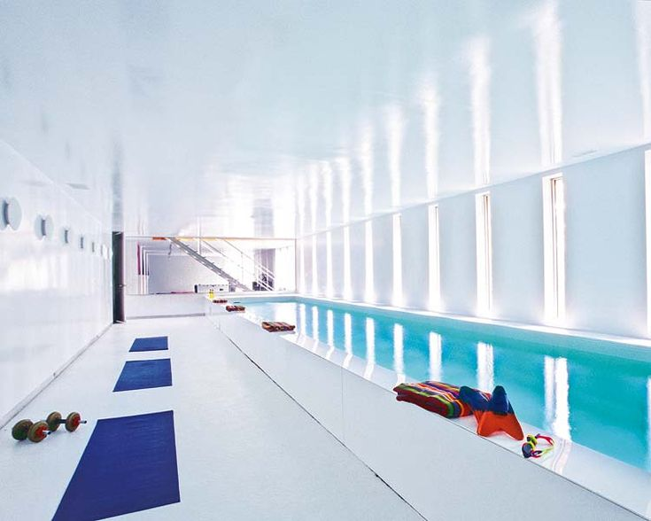 36 best indoor lap pool images on pinterest lap pools for How much is an indoor swimming pool