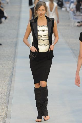 One of many looks from the Chanel Resort Collection for 2012, so many are easy for us to replicate!