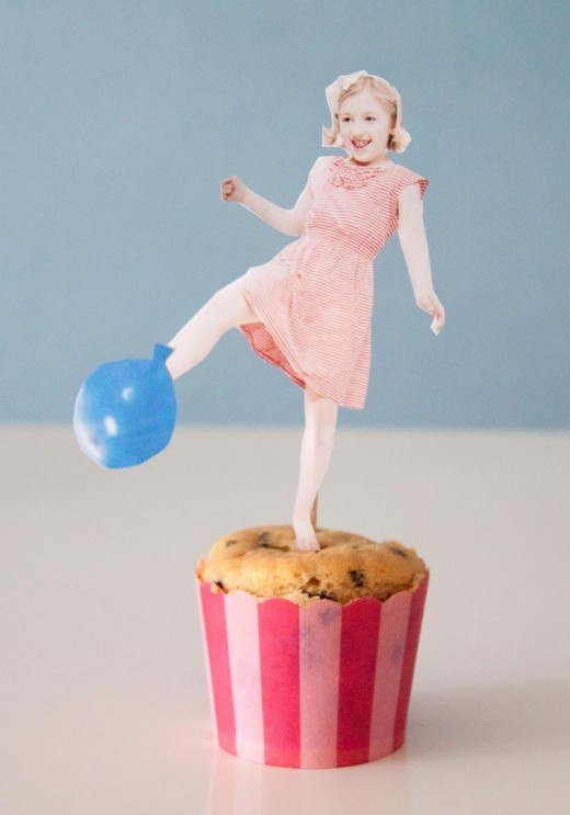 Muffin Toppers aus Fotos basteln