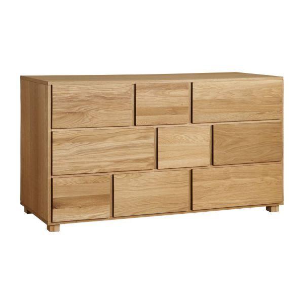 hana ii commode en ch ne de fil en aiguille mobilier. Black Bedroom Furniture Sets. Home Design Ideas