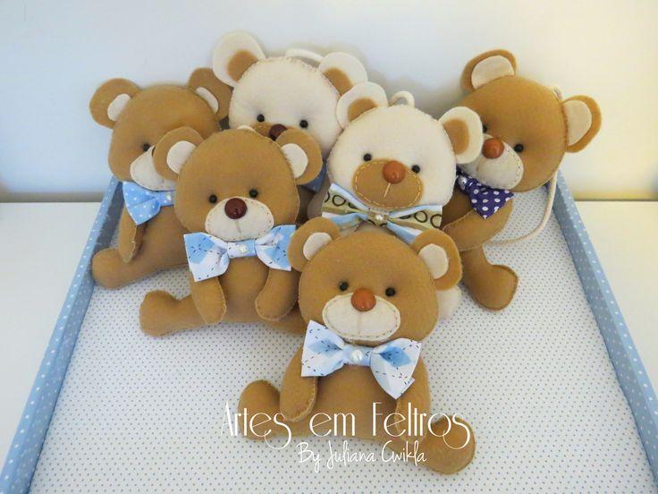 Kit Maternidade ursos Pedro - produzido Agosto 2014