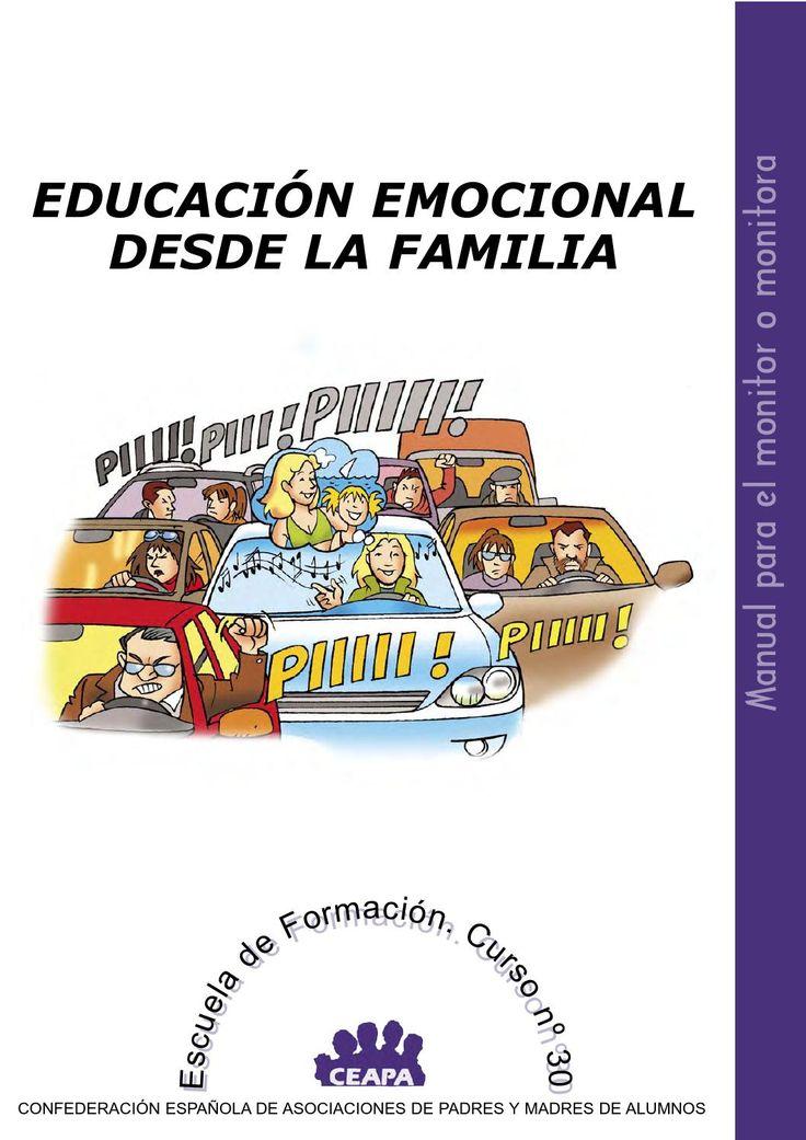 Educación Emocional desde la familia. Manual monitor