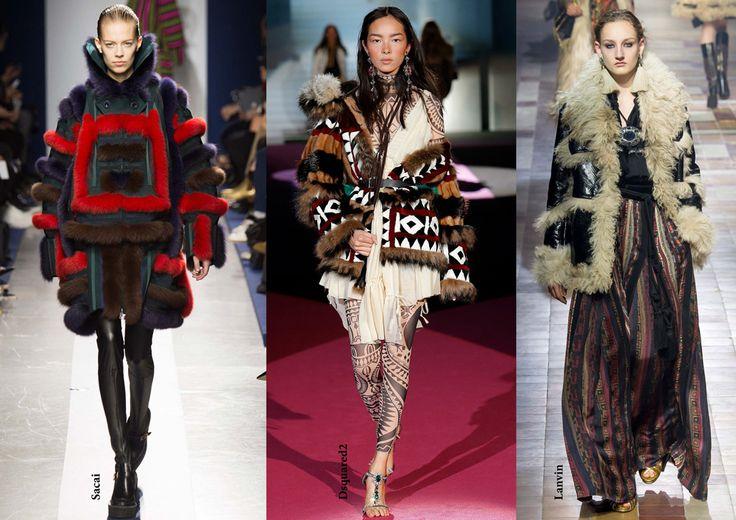 FW15 trends / Arctic fur / Női divat 2015 ősz tél / Népies szőrme