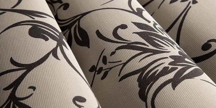 Tessuto decorativo per tende a rullo, a pannello o a strisce verticali - Unland Gardinen