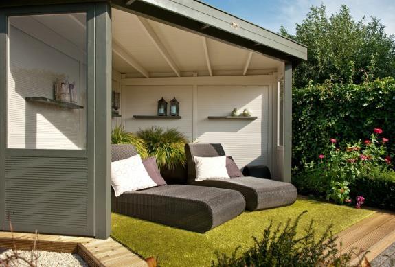 Hillhout : idee voor buitenkamer