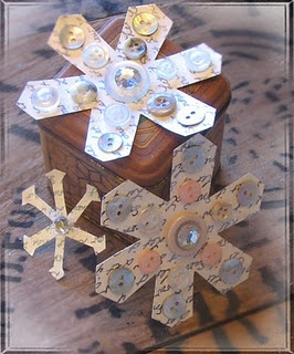 ... have some snowflake cookie cutters that would be great for tracing