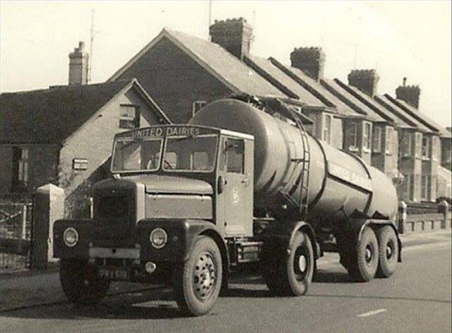 Scammell Tanker.