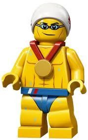 LEGO Olympic Minifigures: Olympic Swimmer by LEGO. $8.99