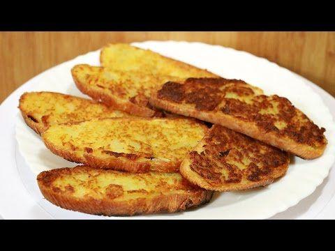Ну, оОчень вкусные - Горячие бутерброды с картошкой! - YouTube