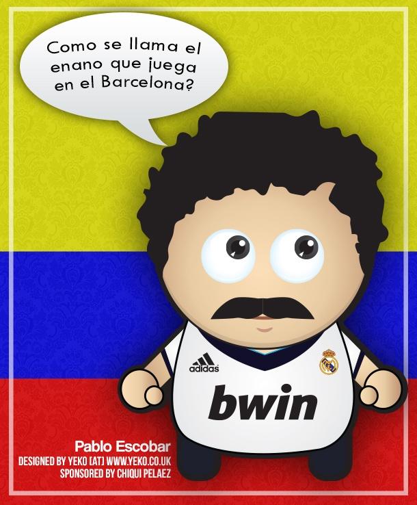 Design in a Day: Pablo Escobar