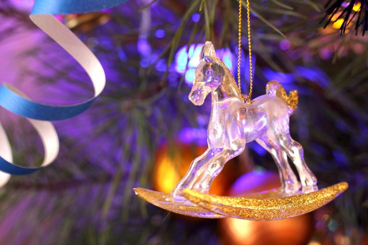 Horse Christmas tree toy