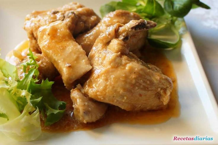 Receta de pollo con salsa de almendras de dificultad f cil - Pollo con almendras facil ...