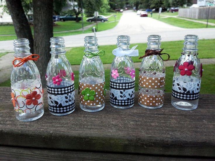 17 best images about cracker barrel syrup bottles for Glass bottle crafts to make