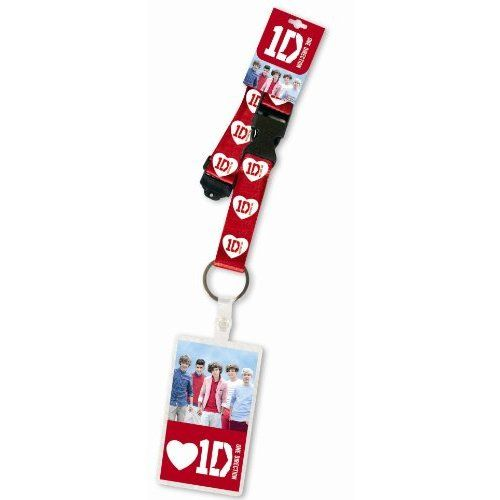 NEEED! One Direction Lanyard with pass 1D Design: Band