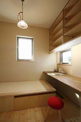 Bedroom-office combination