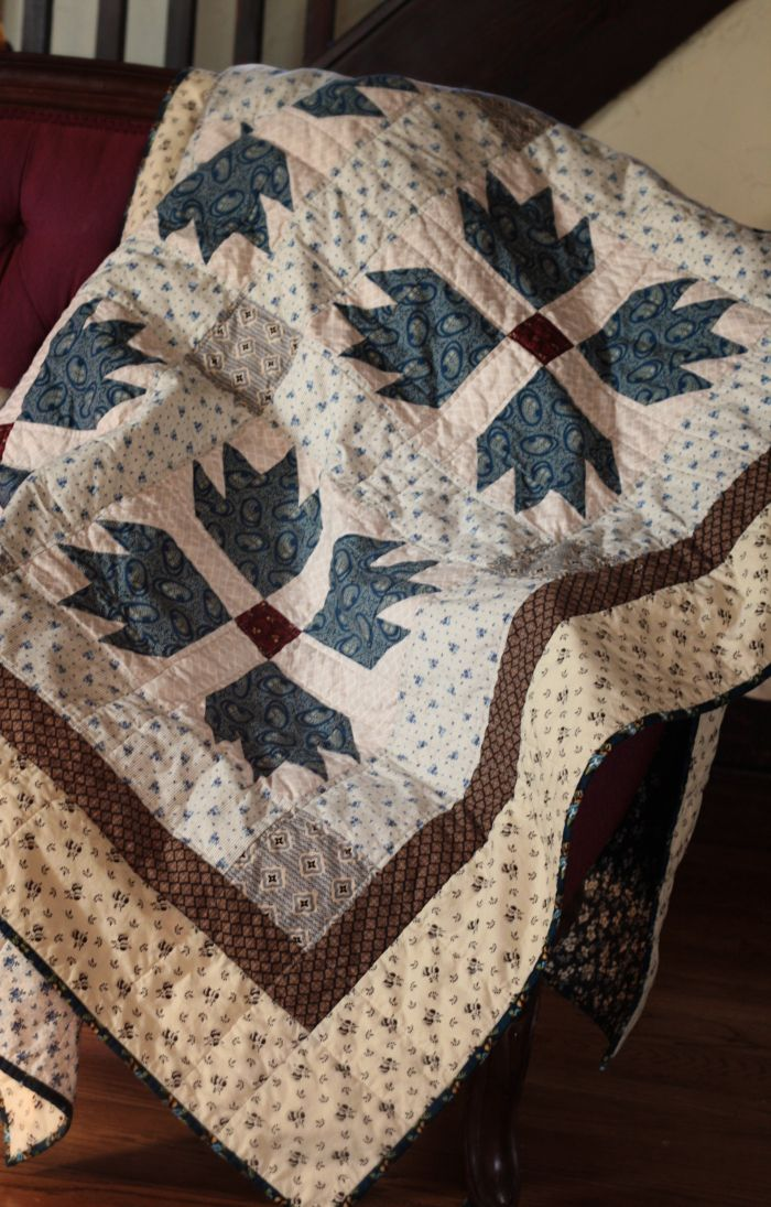 12-12 bear paw quilt                                                       …