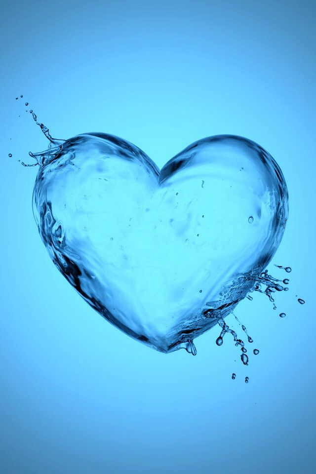 Water Hearts Wallpaper | www.pixshark.com - Images ...