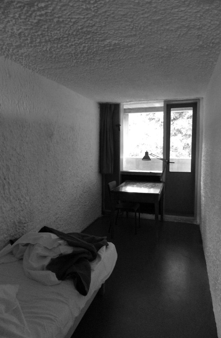 My cell at La Tourette