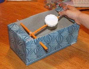 Awesome!! Luci will love this!! Marshmallow Catapult - with instructions to make one!