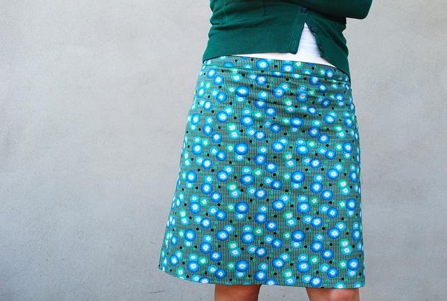 knipmode juni 2010 4c - basic a-line skirt: order pattern online http://www.knipmode.nl/basis-patroon-rokje-pdf-patroon