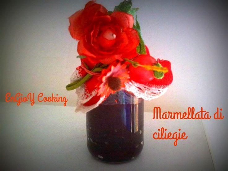 Marmellata di ciliegie | EnGioY Cooking