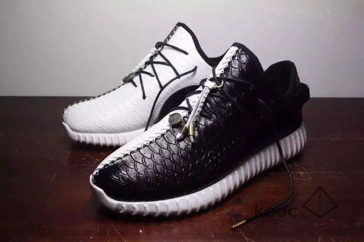Мужские кроссовки Adidas Yeezy Boost 350 Tai Chi Black White