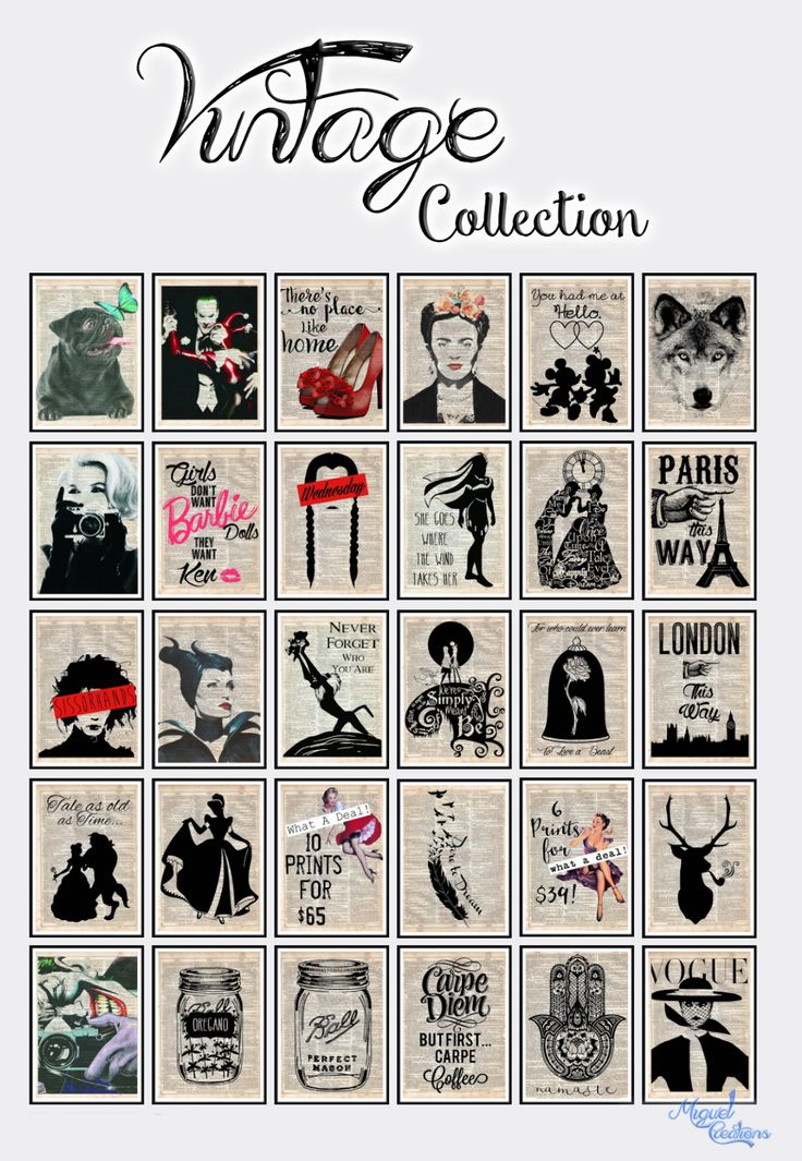 Miguel Creations TS4: Vintage Collection
