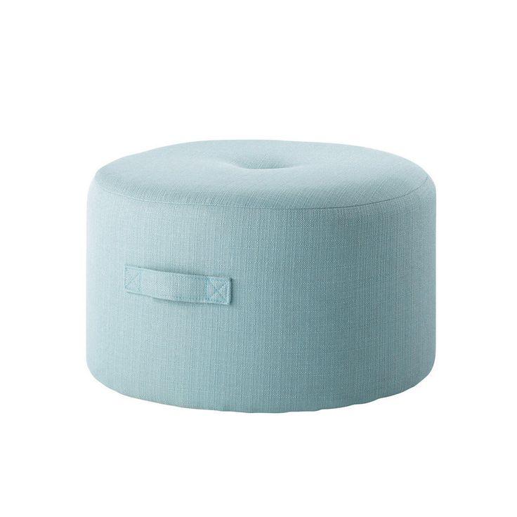 Puf azul de tela BORÉAL 60€