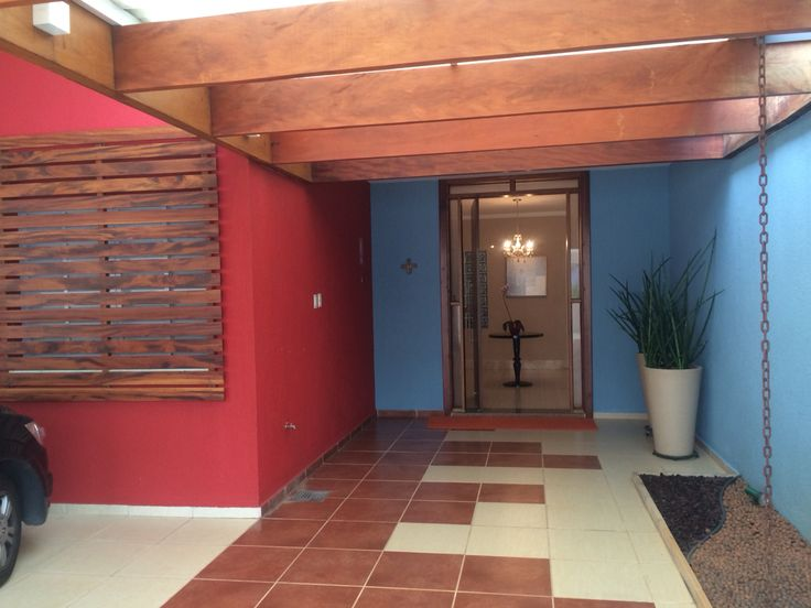 Fachada de entrada da casa dos padres do Liceu de Campinas