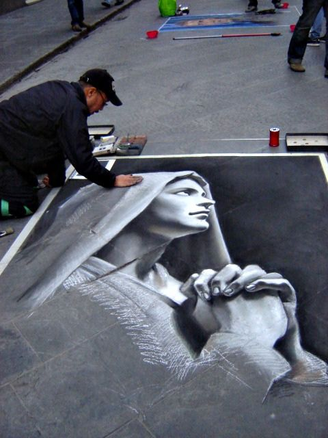 Rome Street Painter | Flickr - Fotosharing!
