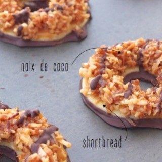 Lorsque j'ai vu ces biscuits en surfantsur Pinterest,j'ai tout de suite voulu en savoir un peu plus sur eux… Ce que c'était exactement… Leur histoire (des biscuits v…