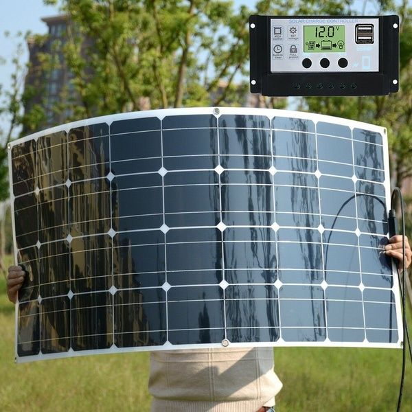 Solarphonecharger Solarsystemscontroller Rv Zaryadnoe Ustrojstvo 0 Flexible Solar Panels Solar Energy Panels Solar Panels