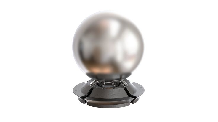 Chrome Blurry Free V-Ray material download