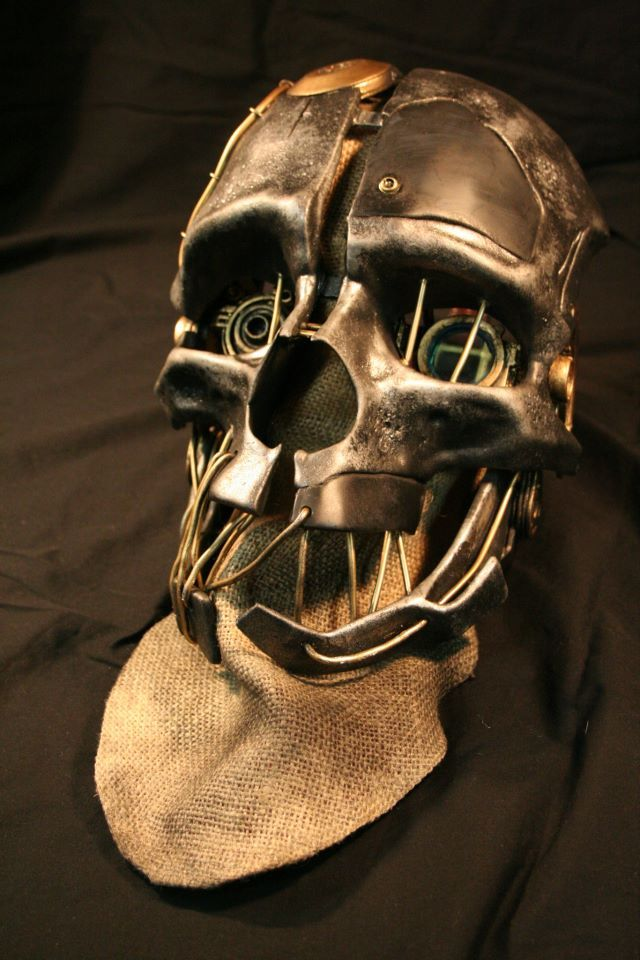 Corvo Attano Mask/Prop from DISHONORED *fixed/added pics*