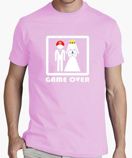 """Game Over"" -  Camiseta Despedida de Soltero"