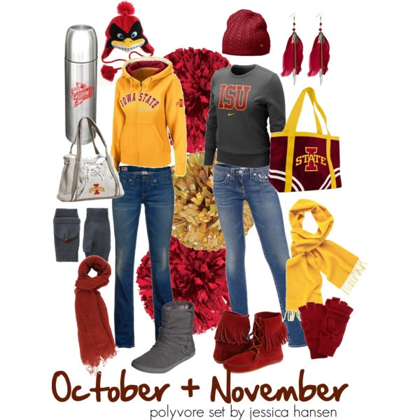 Iowa State style for the ladies. Can't wait until the Fall!