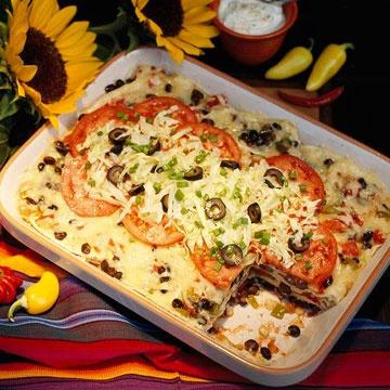 Mushroom And Black Bean Tortilla Casserole Recipes — Dishmaps