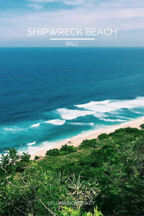 My Adventures Travelling In Bali, Indonesia - Shipwreck Beach (Surfers Paradise)