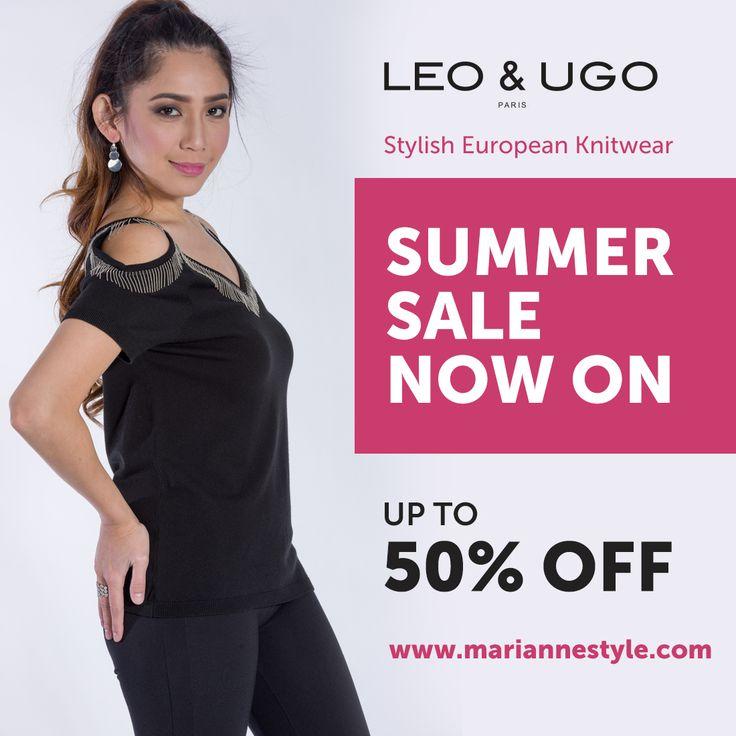 Leo Ugo Paris. High #fashion european knitwear.
