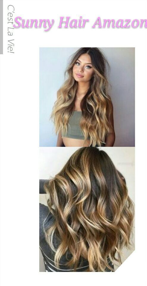 Sunny Balayage Tape In Hair Extensions 14 Inch Dark Brown To Medium