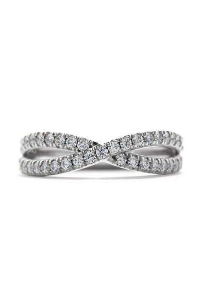 View entire slideshow: Sparkling Wedding Bands on http://www.stylemepretty.com/collection/759/
