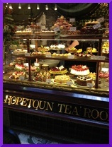 When I am in Melbourne head to Hopetoun Tearooms in The Block arcade