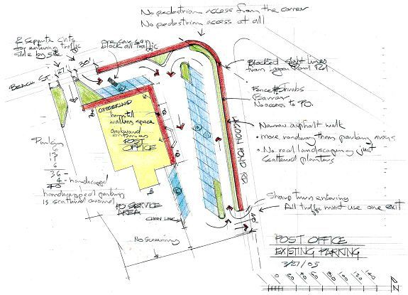 Shopping center parking lot design parking lot design for Parking solutions for small spaces