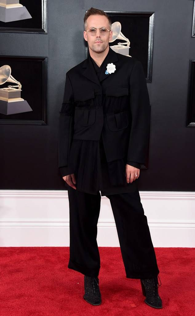 Justin Tranter from 2018 Grammys Red Carpet Fashion
