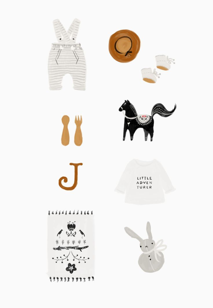 Nursery Inspiration for a little boy | Folk Woodland adventure | Illustration by Cocorrina