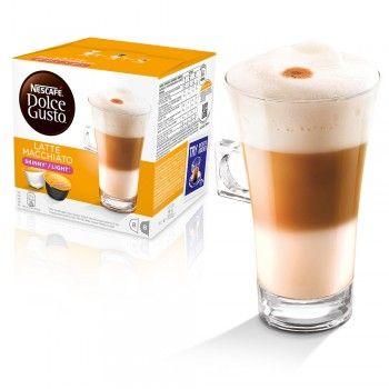 Latte Macchiato Light - Caffè in capsula - NESCAFÉ® Dolce Gusto®. Prova la bontà e la leggerezza del Latte Macchiato Light: una bevanda dal gusto unico in cui la cremosità del latte si unisce all'intenso sapore del caffè espresso, creando una soffice schiuma tutta da assaporare. Tutto questo per sole 50 calorie a tazza. Non scegliere più tra golosità e leggerezza: con il latte macchiato light puoi avere entrambe!  Senza glutine. Acquistala qui…