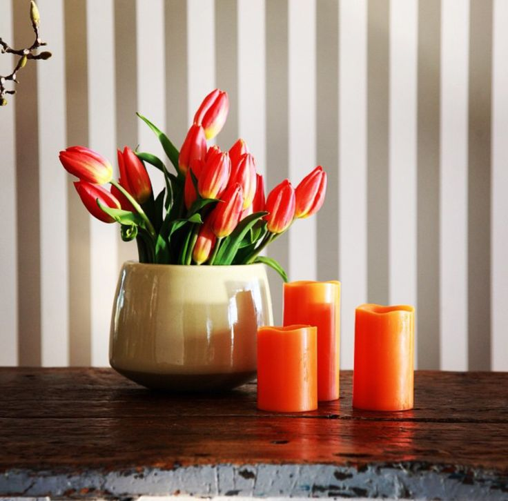 Spoil yourself or someone special with this beautiful gift set.  Each flameless candle has been infused with the delicate scent of orange blossom and is made from real wax #realsafecandles #flamelesscandles #candles #decorations #giftideas #outdoorentertaining #orangecandles