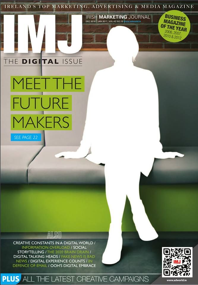 IMJ Digital Issue Inside this special issue, Meet the Future Makers: With a staff of 80 operating mainly out of its base in its Pembroke Street offices in Dublin, Epsilon may not be the highest profile agency in adland, but it is certainly one of the biggest agencies in town. With 2015 revenues in excess of €12m, it puts it in the top five agencies in Ireland, an achievement that was possibly never imagined when it originally began 11 years ago as a small agency called Acorn Direct…