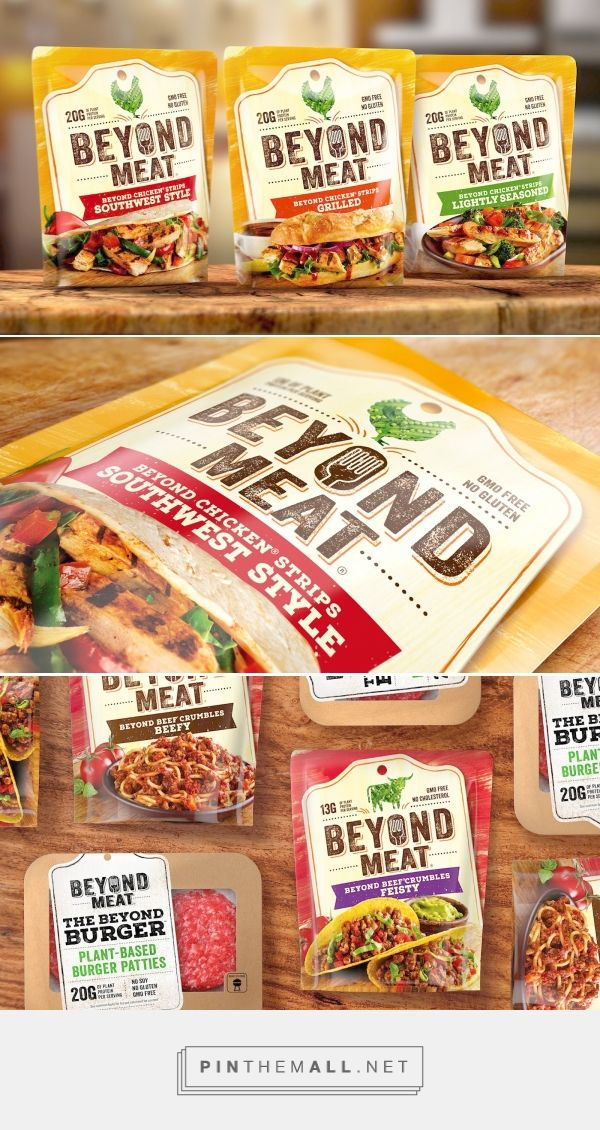 Beyond Meat Packaging Redesign by Bulletproof - http://www.packagingoftheworld.com/2016/10/beyond-meat-redesign.html