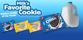 Nabisco Coupon: Save $1 on Oreos and Milk Facebook coupon